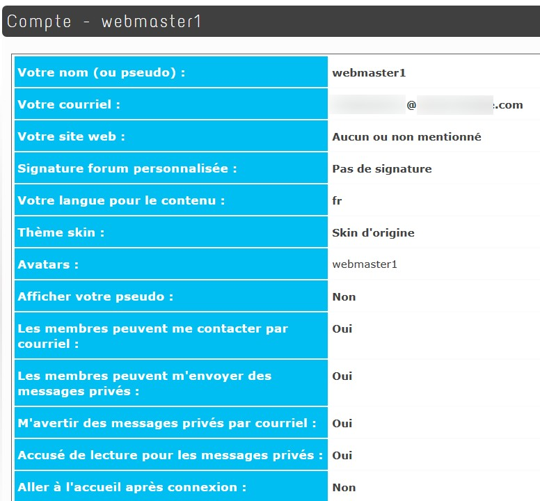 Guppy CMS Portal WEB in php free without BDD - Forum - Guppy 5 - Pas